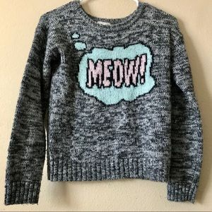 Forever 21 Meow Cat Sweater